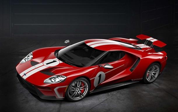 Ford создал особый суперкар GT