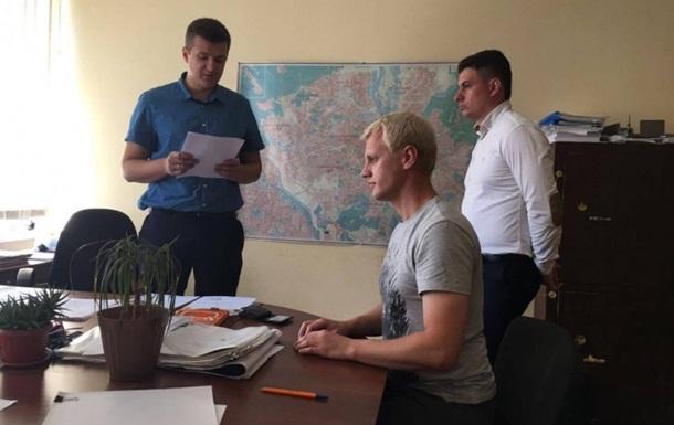 Активісту Шабуніну оголосили підозру