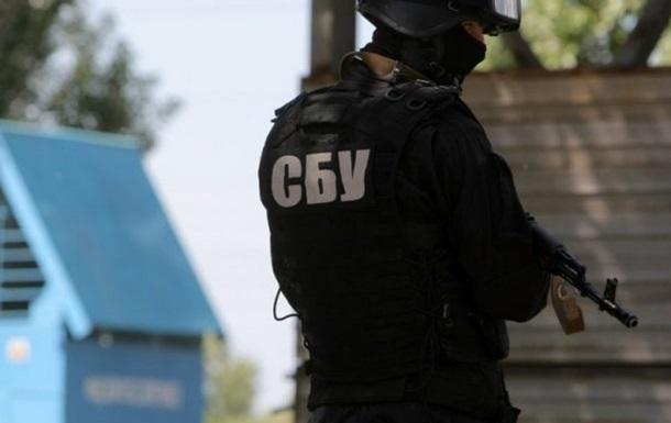СБУ показала видео задержания главаря диверсионной группы