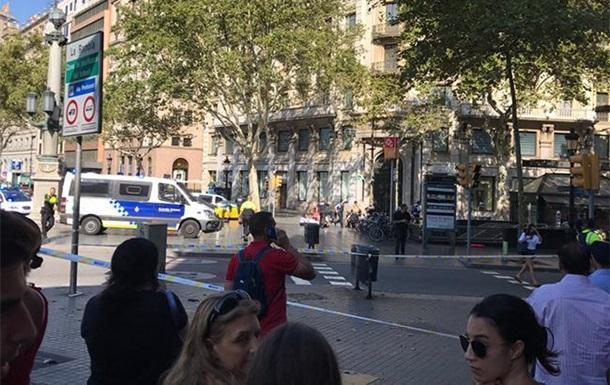 Теракт в Барселоне: двое погибших