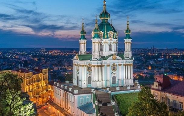 В Киеве 24 августа откроют смотровую площадку Андреевской церкви