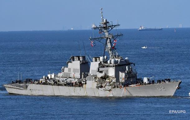 Віце-адмірала ВМС США звільнять через зіткнення есмінця і торгового судна,— WSJ