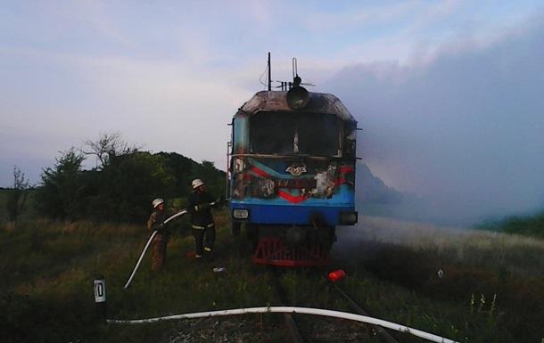 ВФастовском районе Киевской области горел электропоезд