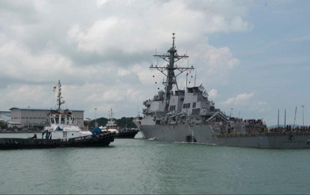 Найдены тела всех пропавших моряков с эсминца США