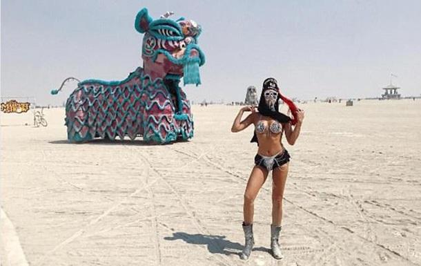 Фестиваль безумств. На Burning Man сгорел человек