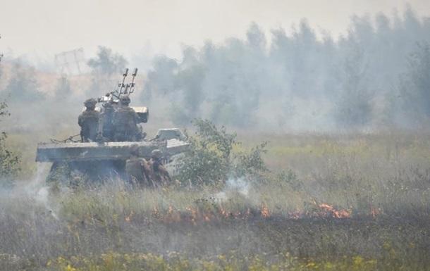 Штаб: Позиции ВСУ обстреляли почти 40 раз