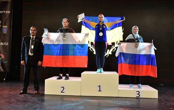 Украинка победила россиянку в финале чемпионата мира по армрестлингу
