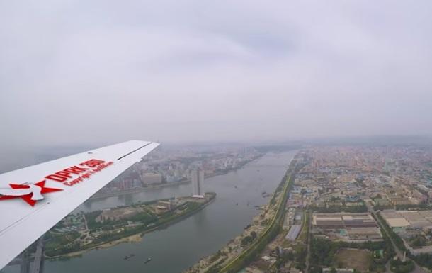 Появилось редкое видео столицы Северной Кореи