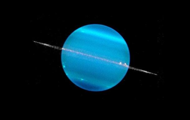 Кільце Урана виявилося трикутником