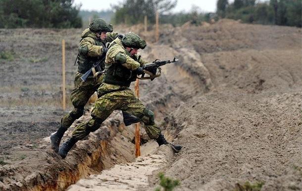 Россия начала учения возле украинской границы
