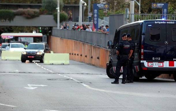 В центре Барселоны идет антитеррористическая операция