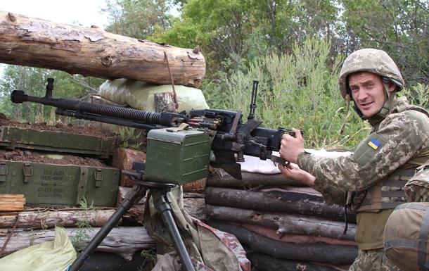 Доба в АТО: військових обстрілювали з гранатометів