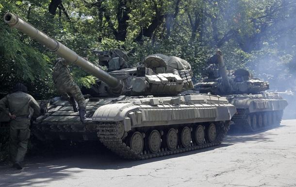 Миссия ОБСЕ недосчиталась танков сепаратистов