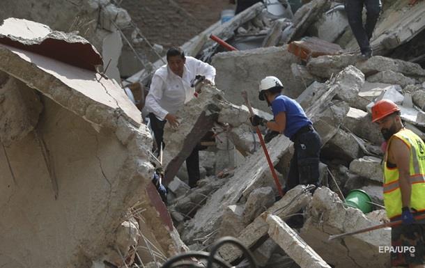 Мексика: в стране ввели режим ЧП из-за землетрясения