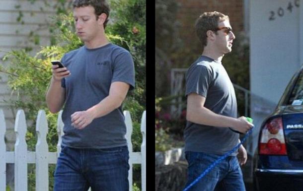 Вглобальной паутине высмеяли необычные джинсы Марка Цукерберга