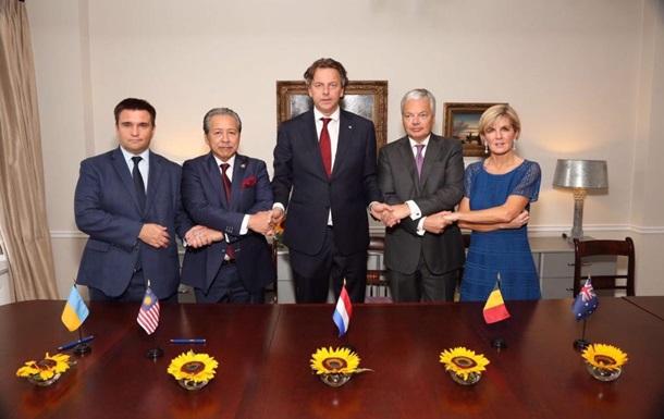 5 стран договорятся ософинансировании преследования виновных вкатастрофе МН17