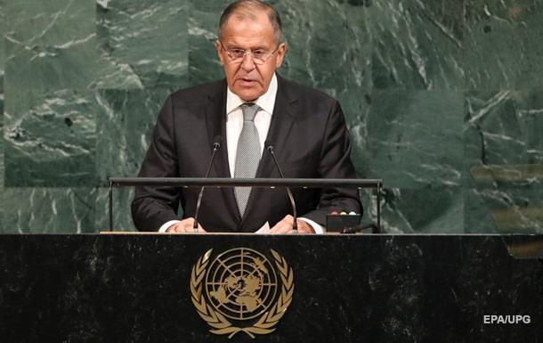 Лавров: НАТО прагне відтворити холодну війну