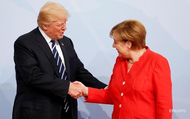 Трамп пожелал Меркель удачных выборов