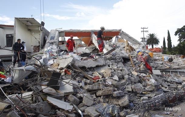 Землетрус у Мексиці: кількість жертв сянула 305 осіб