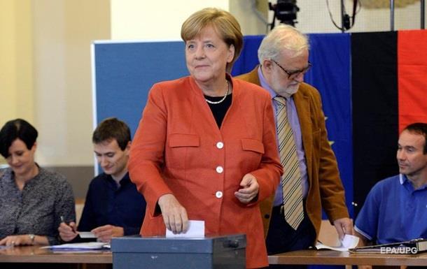Меркель переобрали в Бундестаг