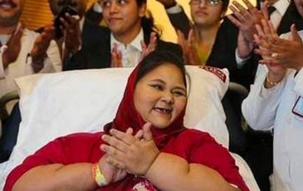 """В ОАЭ умерла """"самая тяжелая в мире"""" женщина"""