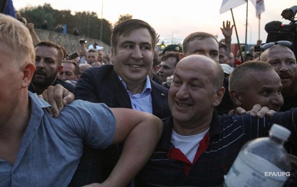 Прорыв Саакашвили одного из участников оставили под стражей