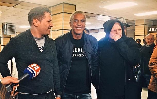 ВКрым летит звезда фильма «Такси»