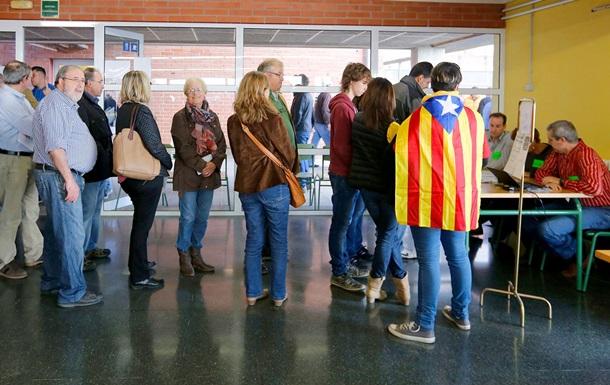 Референдум в Каталонии: работают 73% участков для голосования