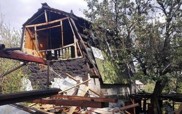 Бойовики обстріляли з мінометів житловий квартал Мар'їнки