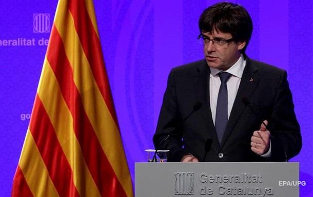 Испания непойдет напереговоры свластями Каталонии