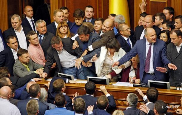 Закони для Донбасу. Через що посварилася Рада