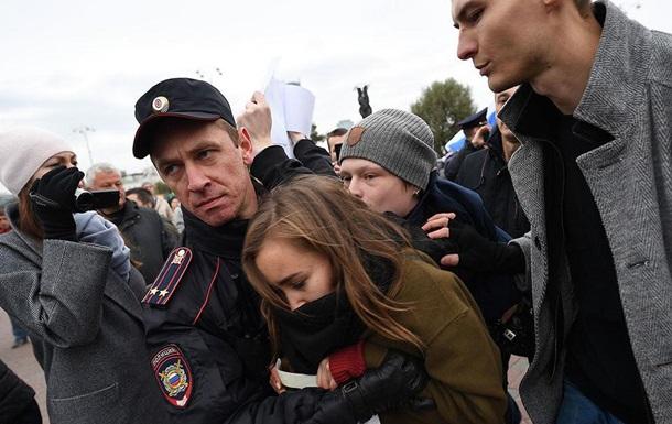 Акції протесту в Росії: затримали понад 260 осіб