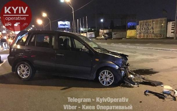 В Киеве нетрезвый полицейский спровоцировал ДТП