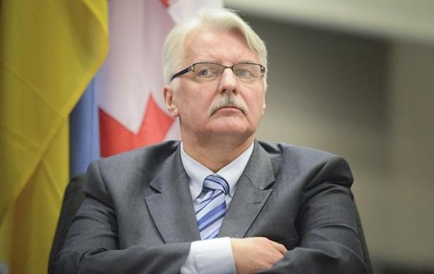 Очільник польського МЗС відмовив Угорщині успільному «наїзді» наУкраїну