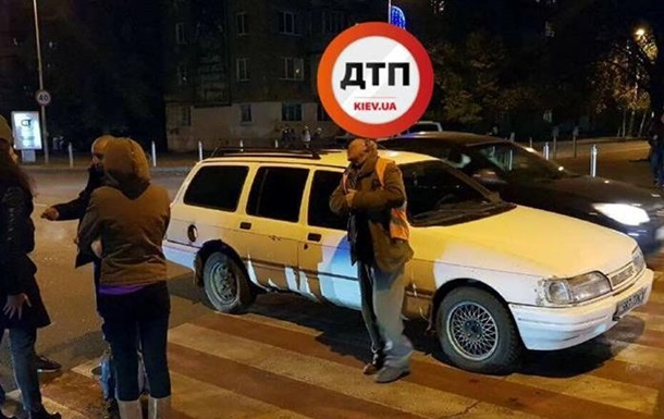 Под Киевом пьяный водитель сбил на переходе ребенка