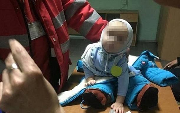 ВКиеве женщина бросила малыша навокзале
