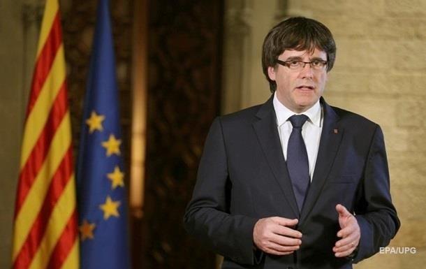 """Пучдемон назвал себя """"легитимным"""" главой Каталонии"""