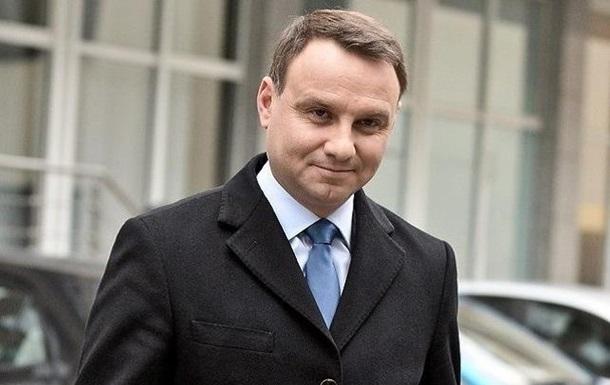 Дуда планує угрудні відвідати Україну— ЗМІ