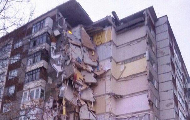 Вросійському Іжевську обвалився цілий під'їзд дев'ятиповерхівки