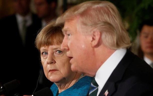 Трамп предложил привлечь Меркель к разрешению конфликта на Азове