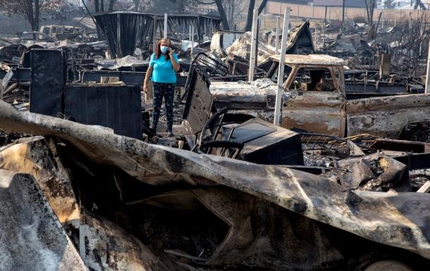 В Орегоне из-за пожаров пропали десятки людей