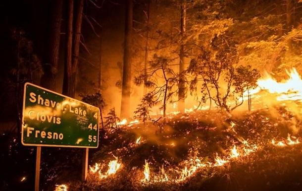 В США возросло количество жертв пожаров - СМИ