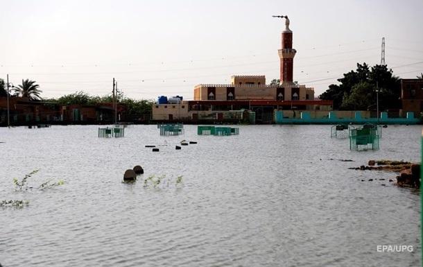 В Судане число пострадавших от наводнения достигло 720 тысяч