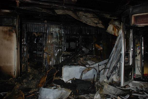 Прошел пожар наодном изкрупнейших рынков воЛьвове
