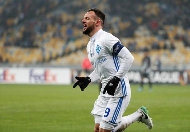Динамо - Партизан 4:1. Онлайн матча Лиги Европы
