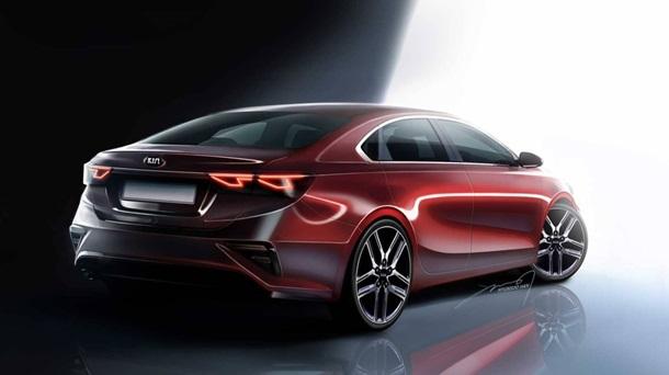 Kia рассекретила дизайн нового седана Cerato