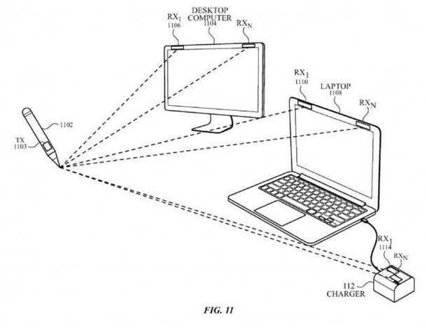 Apple запатентовала стилус, которым можно рисовать ввоздухе