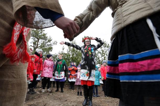 Традиционные Масленичные гулянья (фото: EPA/UPG)