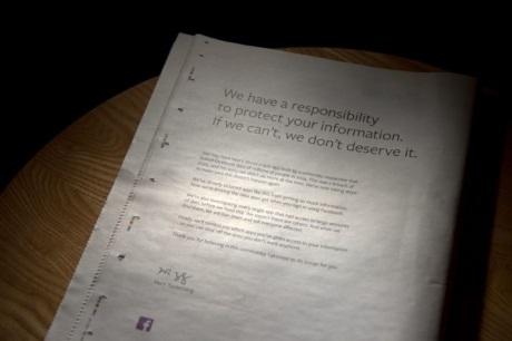 Цукерберг через газети вибачився за витік даних