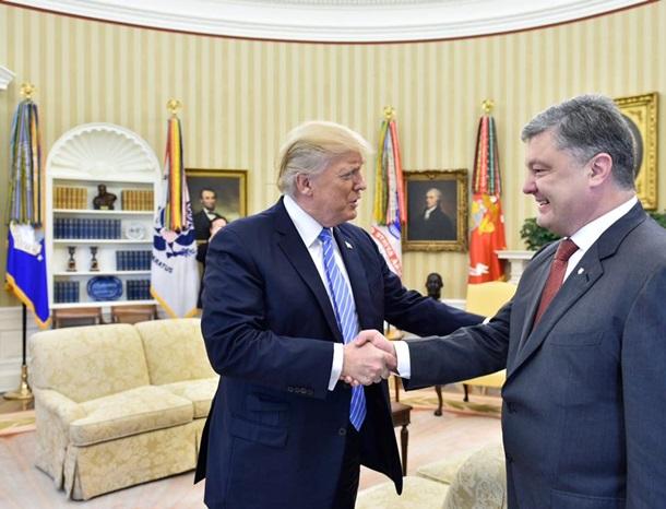 Цена фото. Порошенко платил за встречу с Трампом?